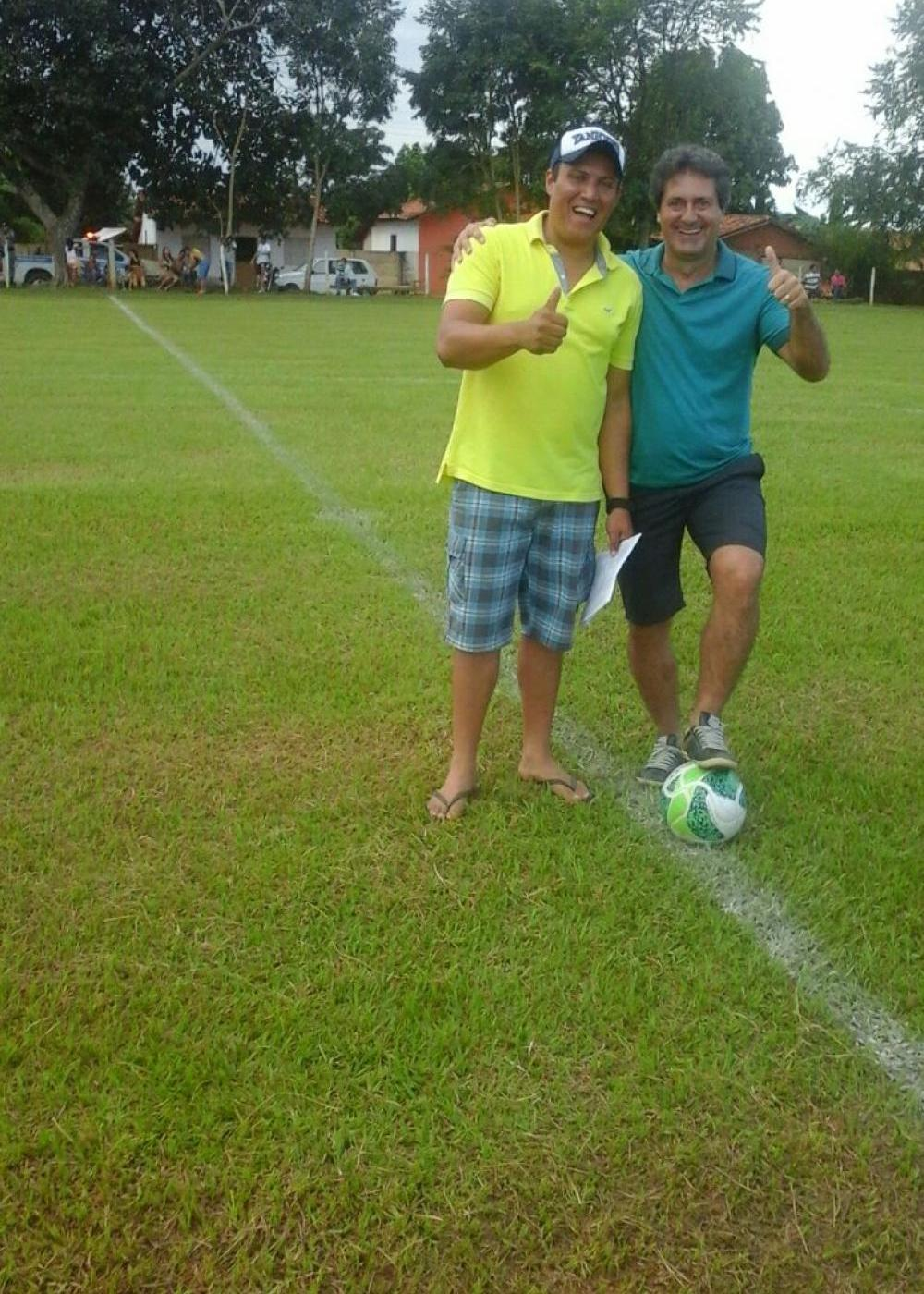 Vereador Paulo Rezende inicia a realização do Torneio de Futebol no Distrito de Diolândia