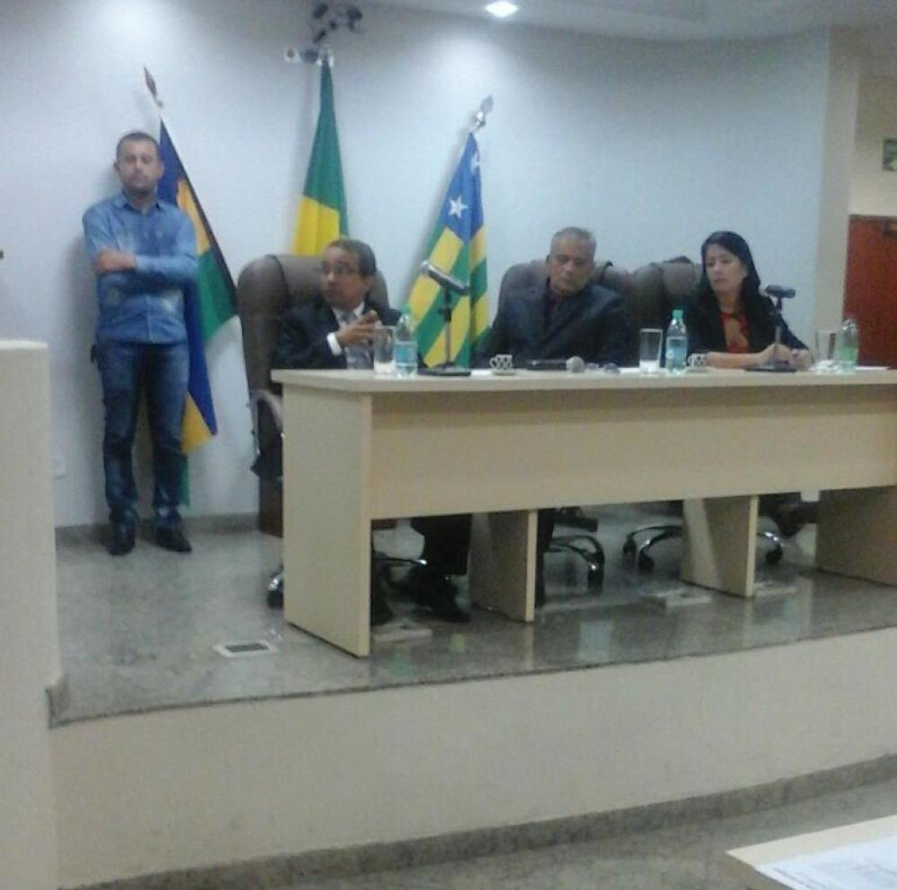 Câmara de Vereadores realizou (1º de Fevereiro), a primeira Sessão Ordinária do ano