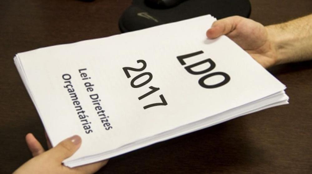 Os vereadores da Câmara Municipal de Itapuranga votarão em primeira votação o Projeto de Lei de Diretrizes Orçamentárias para o exercício de 2017