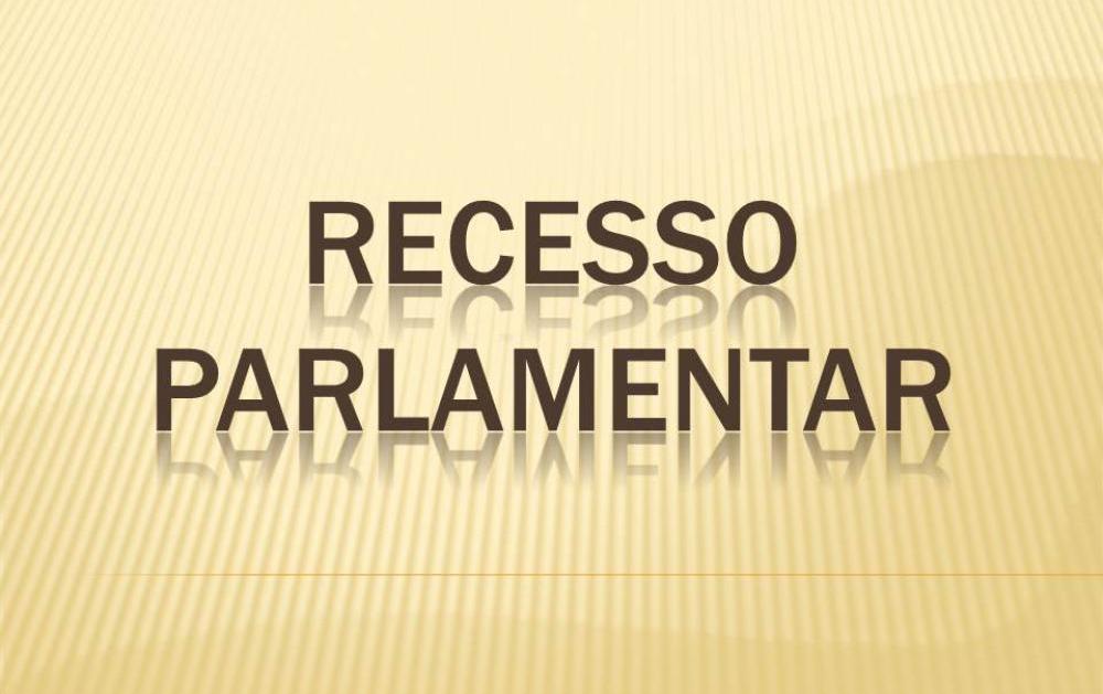 Recesso Parlamentar da Câmara Municipal de Itapuranga