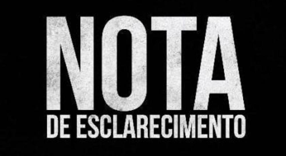 NOTA DE ESCLARECIMENTO CONCURSO PUBLICO