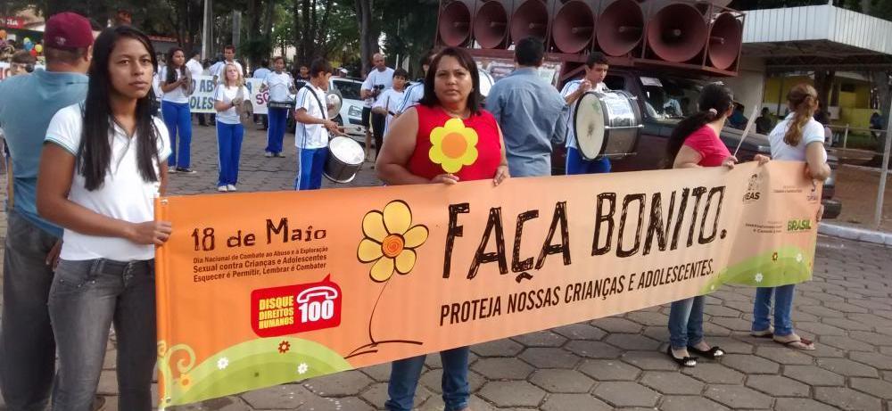 """Vereadores da Câmara participa da """"Campanha Nacional de Luta contra o Abuso e Exploração Sexual"""""""